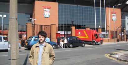 Nicholas at Anfield